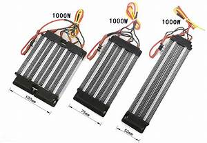 48v 200w Ptc Heating Element 3 Row  Mini Electric Air
