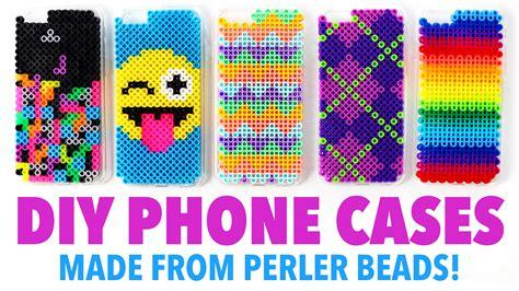 phone made diy phone cases made from perler hgtv handmade