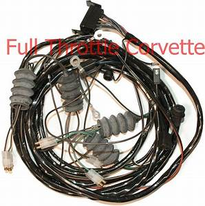 1965 Corvette Coupe Rear Body Wiring Harness Without Back