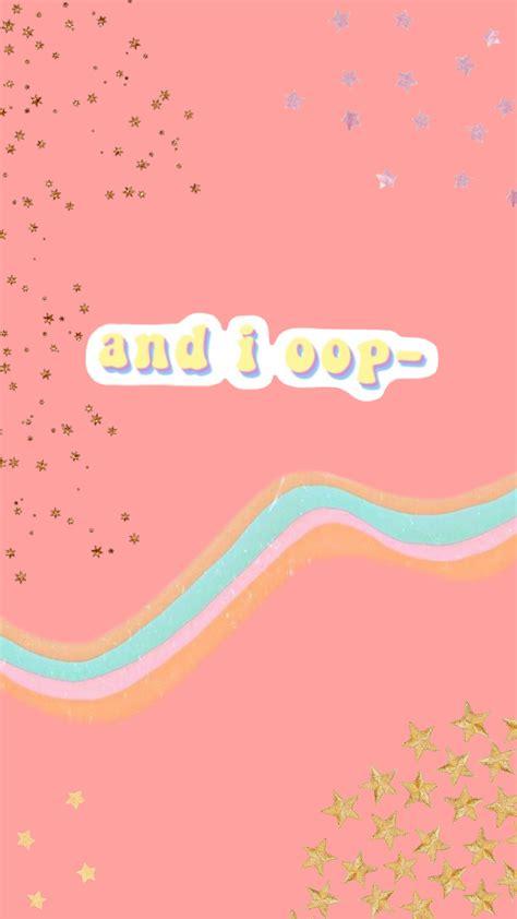 aesthetic pink wallpaper trendy meme andioop