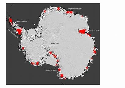 Antarctica Rivers Ice Antarctic Streams Meltwater Much