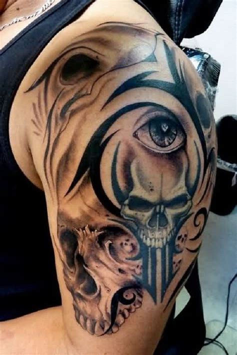 80 Frightening And Meaningful Skull Tattoos Tattoo