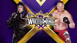 Undertaker VS Brock Lesnar WrestleMania 30 by 931105j on ...