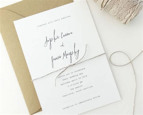 sophie wedding invitation sle simple wedding