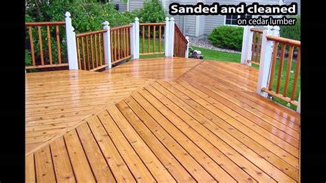 Best Cedar Deck Stain And Sealer