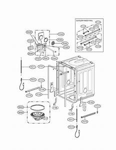 Lg Lds5560st Dishwasher Parts