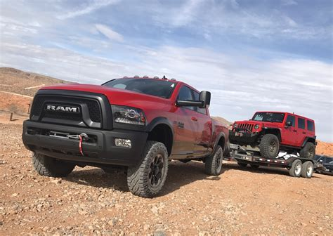 Towing On The Highway With The 2017 Ram Power Wagon