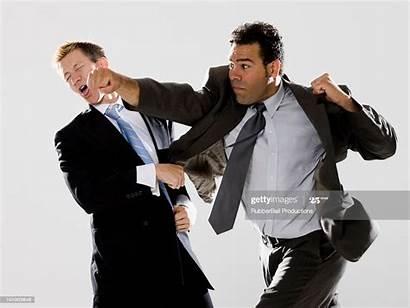 Fighting Businessmen Sign