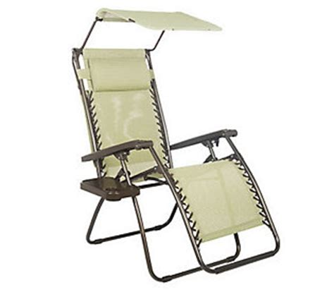 Bliss Hammocks Zero Gravity Chair by Bliss Hammocks Gravity Free Recliner With Canopy Cup