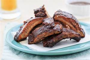 Grilled  U0026 Braised Rack Of Bbq Beef Short Ribs Recipe