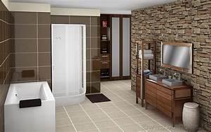 travaux realises par vb home vb home With salle de bain ouverte sur dressing