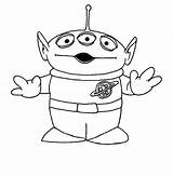 Alien Toy Coloring Colouring Disney Drawing Tattoo Aliens Disegni Sheets Colorare Drawings Printables Pixar Colorear Books Printable Coloriage Malarboecker Planet sketch template