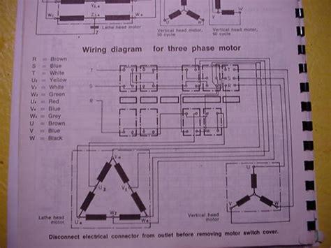 single phase to 3phase vfd on dahlander wired motor lathe