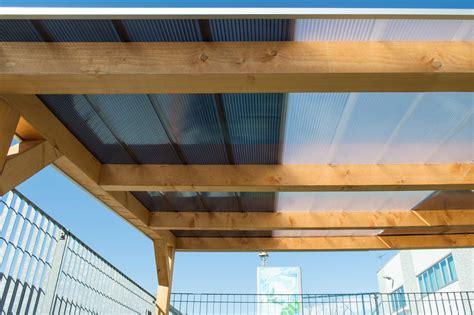 Come Costruire Una Veranda In Legno Lamellare by Come Chiudere Una Veranda In Legno Con Il Policarbonato