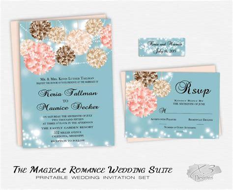 Teal And Pink Wedding Invitations   Sunshinebizsolutions.com