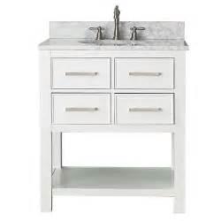 white 30 inch vanity combo with white marble top avanity vanities bathroom