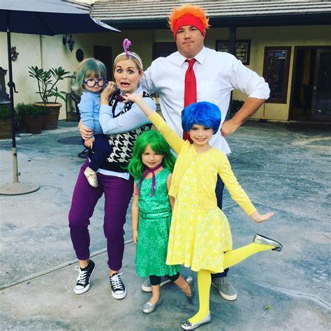 Family Halloween Costumes: Disney Pixar Inside Out Joy