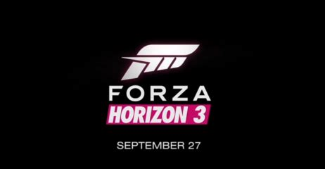 Forza Horizon 3 Coming To Xbox One And Windows 10 On