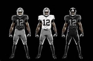 Color Rush Oakland Raiders New Uniforms