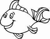Fish Coloring Pages Preschool Kindergarten Child sketch template
