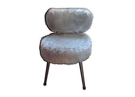 chaise fourrure chaises fourrure achat vente de chaises pas cher