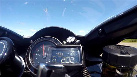 kawasaki ninja  top speed mph kmhr youtube