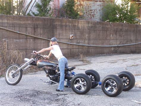 5 Wheel Chopper Trike, Yes Trike. Race Reflections By