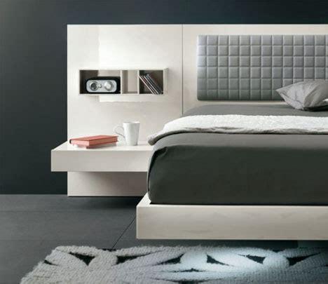 bed board design cool floating futuristic bed modern headboard design