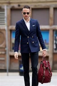 ASOS Double Breasted Blazer - He Spoke Style