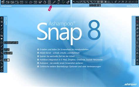 Ashampoo Snap 8 - vairāk nekā vienkārši ekrānuzņēmumi