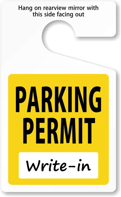 Doityourself Parking Permits Made Onsite