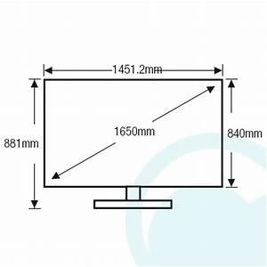 Dimension Tv 65 Pouces : samsung ua65hu7200w 65 inch 165cm 4k ultra hd smart curved ~ Melissatoandfro.com Idées de Décoration