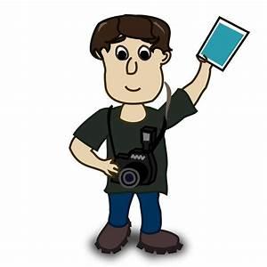 Clipart boy photographer