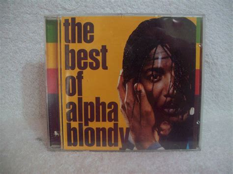 the best of alpha blondy cd alpha blondy the best of alpha blondy r 15 00 no