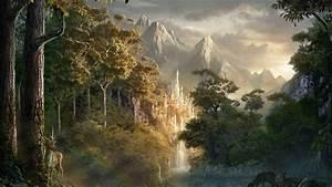 fantasy, , landscape, , art, , artwork, , nature, wallpapers, hd