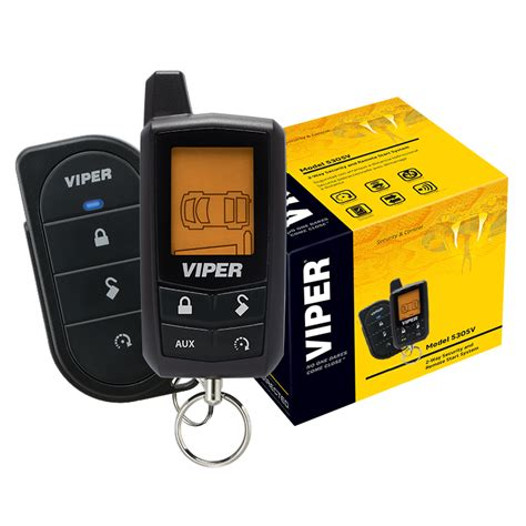Viper Way Lcd Vehicle Car Alarm Keyless Entry