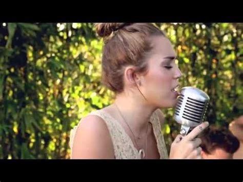 Miley Cyrus  Jolene  The Backyard Sessions (hd) Youtube