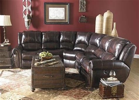 havertys leather sectional sofa haverty s prestige recliner sectional house decorating