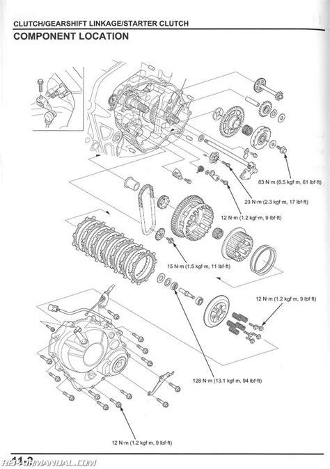 honda nch metropolitan scooter service manual