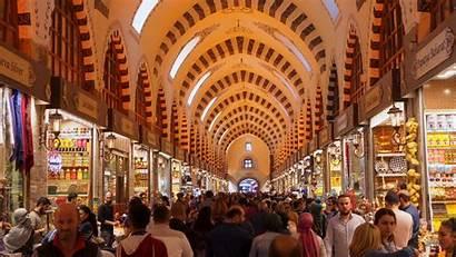 Istanbul Turkey Bazaar Shopping Spice Many April