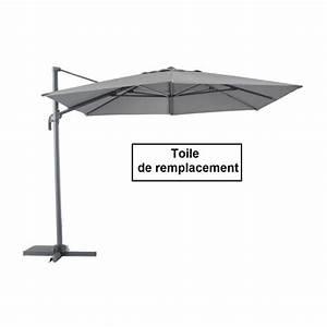 Toile Pour Parasol Déporté : toile pour parasol decentre fresno hexagonal gr achat vente toile de parasol toile parasol ~ Teatrodelosmanantiales.com Idées de Décoration