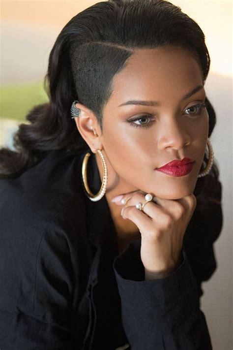 beautiful black women hair styles long undercut