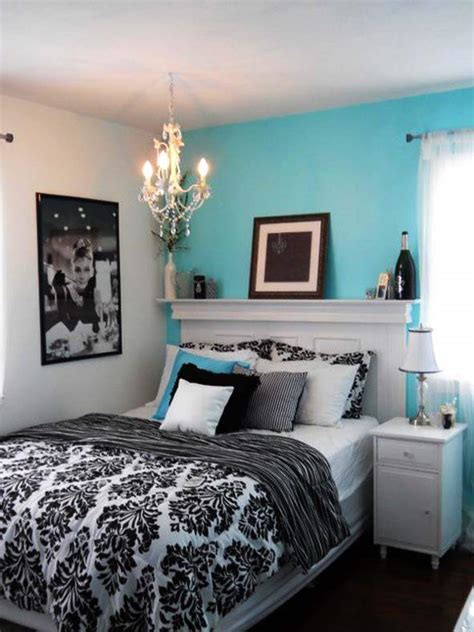 Bedroom, Tiffany Blue Bedrooms Design Ideas Image4