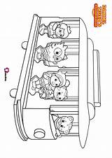 Daniel Coloring Neighborhood Trolley Tiger Serials Children Bubakids Cartoon Printable Tigers sketch template