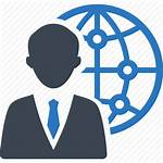 Icon Global Business Icons Communication Recruitment Vector