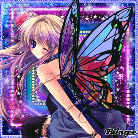 Anime At The Picture 118757582 Blingee Butterfly Anime Picture 116909667 Blingee