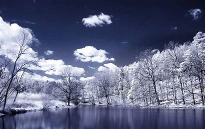 Winter Widescreen Wallpapers Desktop Landscape Cold Resolution