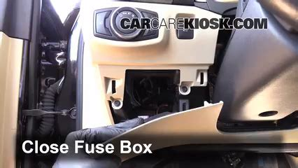 2011 Ford Fusion 4 Cylinder Fuse Box by Interior Fuse Box Location 2013 2019 Ford Fusion 2013