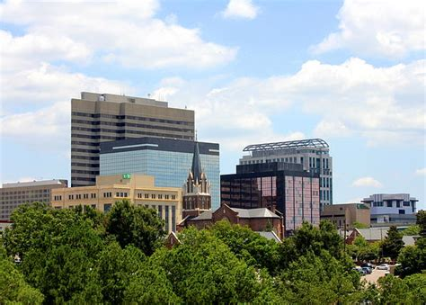 columbia south carolina city view by theresa connolly