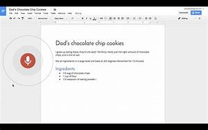 Google Docs Now Lets You Edit And Format Text Using Your Voice